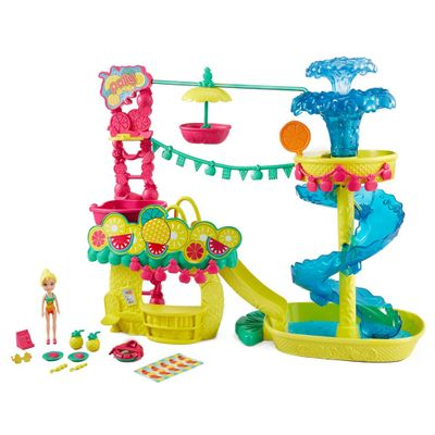 Playset-Polly-Pocket---Parque-Aquatico-dos-Abacaxis---Mattel