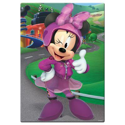 Quebra-Cabeca---200-Pecas---Minnie---Mickey-Aventuras-Sobre-Rodas---Disney---Toyster