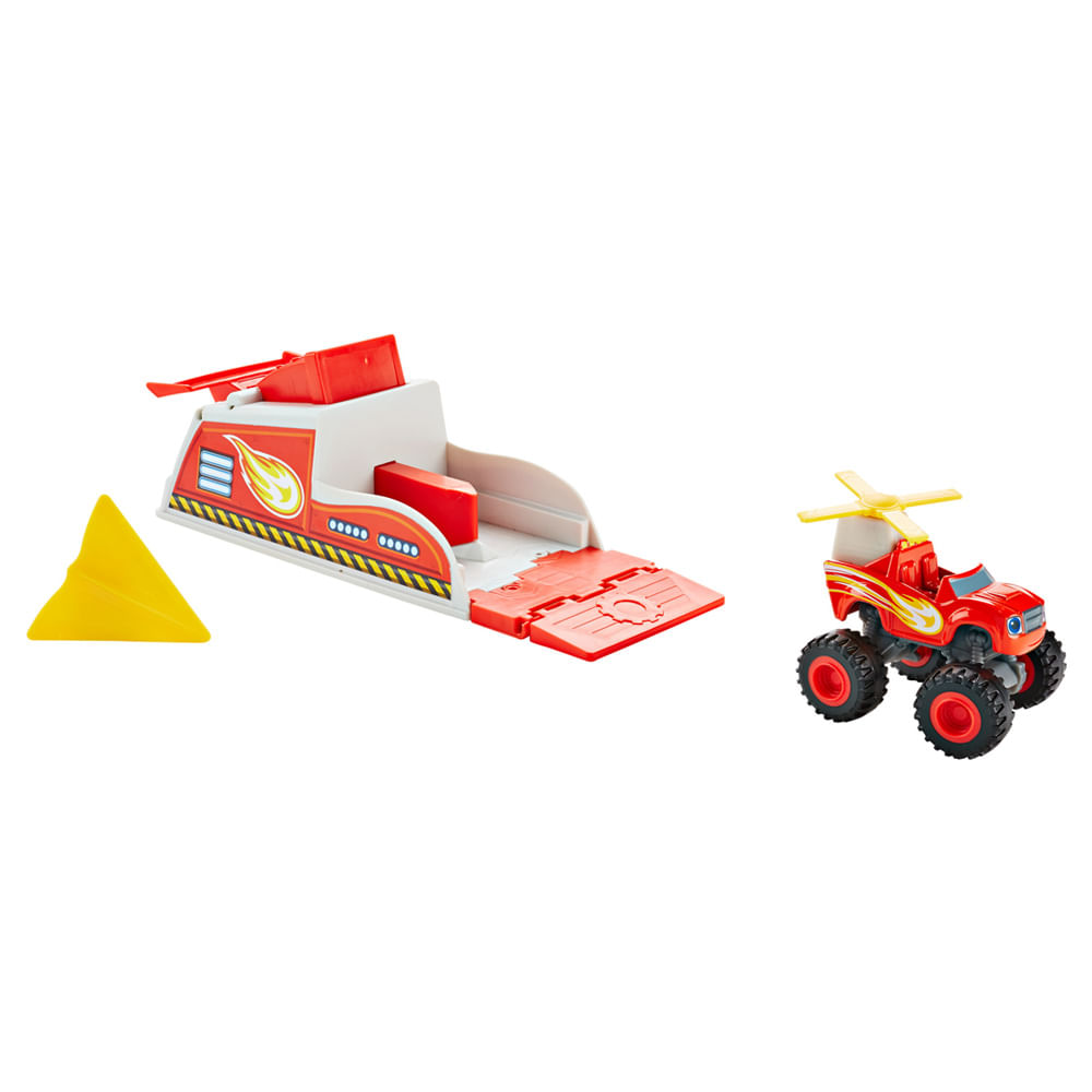 Turbo Lançador - Blaze and The Monsters Machine - Fisher-Price