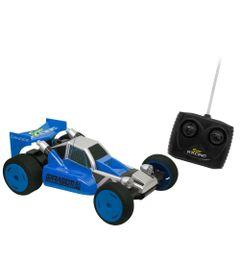Carrinho-de-Controle-Remoto---Garagem-S-A---Super-Racing---Azul---Candide