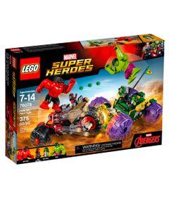 LEGO-Super-Heroes---Marvel---Hulk-vs-Hulk-Vermelho---76078