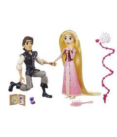 Conjunto-de-Bonecas-Articuladas---30-Cm---Disney---Princesas---Tangled-Series---Cinderela-e-Eugene---Hasbro