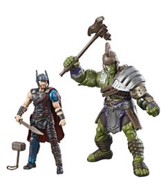 Conjunto-de-Bonecos---10-Cm---Disney---Marvel---Marvel-Legends---Thor-Ragnarok---Thor-e-Hulk---Hasbro