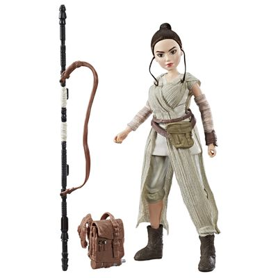 Figura-Articulada---30-Cm---Disney---Star-Wars---Star-Wars-Forces-of-Destiny---Rey---Hasbro