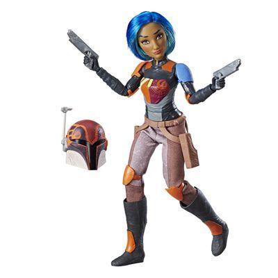 Figura-Articulada---30-Cm---Disney---Star-Wars---Star-Wars-Forces-of-Destiny---Sabine---Hasbro