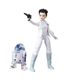 Figura-Articulada---30-Cm-e-Robo---Disney---Star-Wars---Star-Wars-Forces-of-Destiny---Leia-e-R2-D2---Hasbro