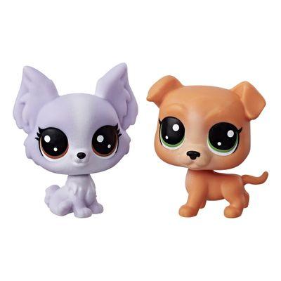 Mini-Figura---Littlest-Pet-Shop---Serie-1---Frilly-Lepapillon-e-Pitley-Bullbury---Hasbro