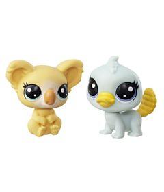 Mini-Figura---Littlest-Pet-Shop---Serie-1---Kami-Koalapuff-e-Pammy-Platyfoot---Hasbro