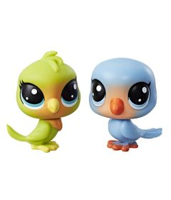 Mini-Figura---Littlest-Pet-Shop---Serie-1---Lolly-Lovington-e-Leo-Lovefeather---Hasbro