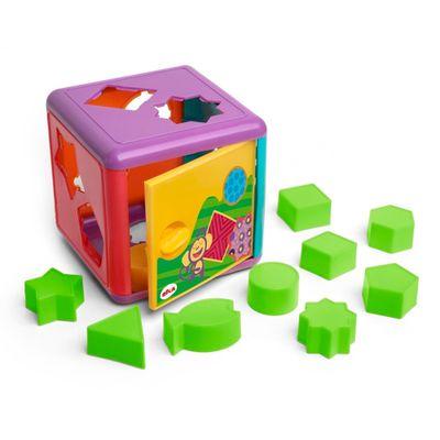 Blocos-de-Montar---Cubo-de-Encaixes-Colorido---Elka