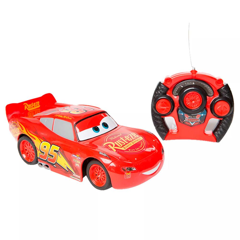 Carrinho de Controle Remoto - 1:14 - Disney - Pixar - Carros 3 - Relâmpago McQueen - Estrela