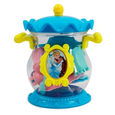 Conjunto-de-Acessorios---Jogo-de-Cha---Disney---Princesas---Coroa---Cinderela---Toyng