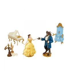 Playset-e-Figuras---Domo---Disney---Princesas---A-Bela-e-a-Fera---Sunny