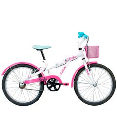 Bicicleta-ARO-20---Barbie---Branca---Caloi