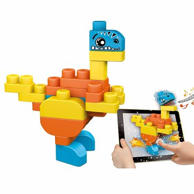 Blocos-de-Montar-Interativos---App-Toys---Dinossauros---Chicco