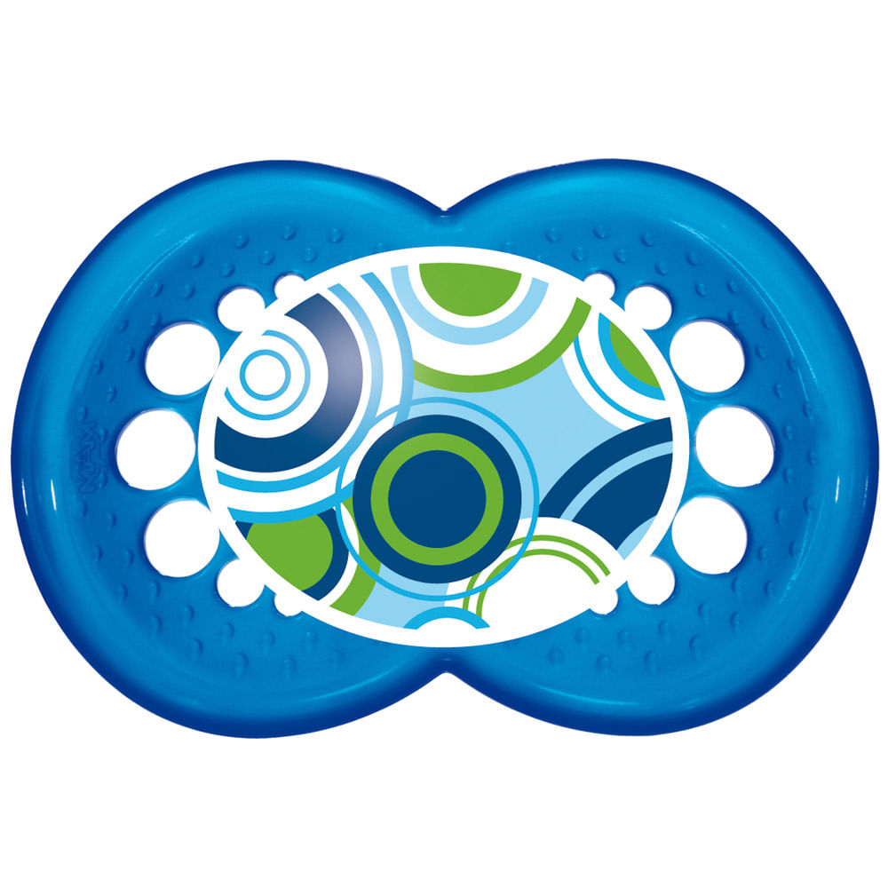 Chupeta - Silk Touch - Boys - 6 a 36m - Circles -  MAM