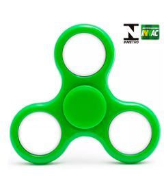 Hand-Spinner-Anti-Stress-Certificado---Fidget-Light-Spinner---Verde---Candide