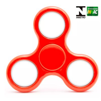 Hand-Spinner-Anti-Stress-Certificado---Fidget-Light-Spinner---Vermelho---Candide