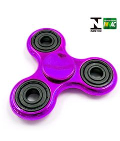 Hand-Spinner-Anti-Stress-Certificado---Fidget-Spinner-Special-Metalizado---Roxo---Candide