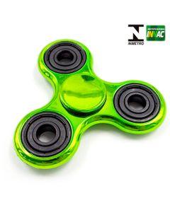 Hand-Spinner-Anti-Stress-Certificado---Fidget-Spinner-Special-Metalizado---Verde---Candide