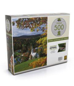 Quebra-Cabeca---500-Pecas---Outono-nos-Alpes---Grow