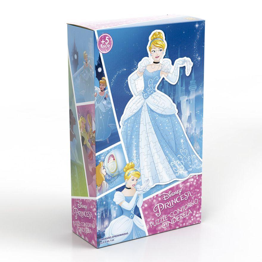 Quebra-Cabeca-com-Contorno---Disney---Princesas---Cinderela---Grow