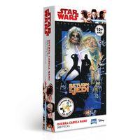 Quebra-Cabeca-Nano---Star-Wars---Luke-SkyWalker---500-Pecas---Toyster---Disney