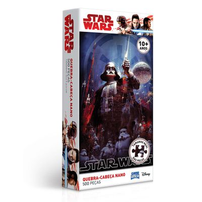 Quebra-Cabeca-Nano---Star-Wars---Darth-Vader---500-Pecas---Toyster---Disney