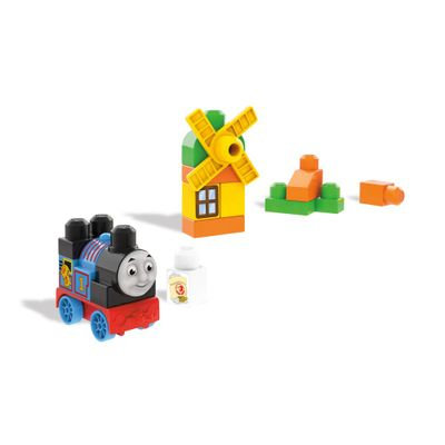 Blocos-de-Montar---Mega-Bloks---Thomas---Friends---Thomas-na-Fazenda---Fisher-Price