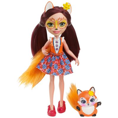 Boneca-Fashion-e-Pet---Enchantimals---Felicity-Fox---Mattel