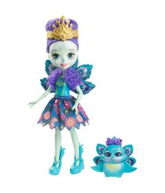 Boneca-Fashion-e-Pet---Enchantimals---Patter-Peacock---Mattel