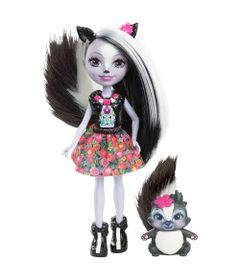 Boneca-Fashion-e-Pet---Enchantimals---Sage-Skunk---Mattel