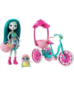 Boneca-Fashion-e-Veiculo---Enchantimals---Talee-Turtle---Mattel