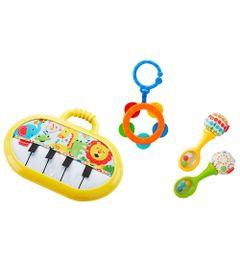 Conjunto-de-Mordedores-e-Chocalhos---Kit-Musical---Fisher-Price