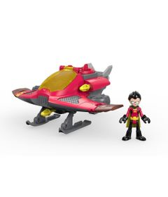 Figura-e-Veiculo---Imaginext---DC-Comics---Teen-Titans-Go---Robin---Fisher-Price