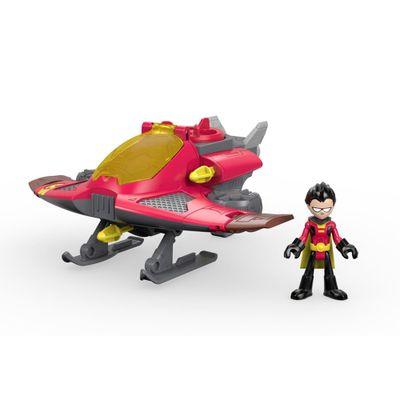Figura-e-Veiculo---Imaginext---DC-Comics---Teen-Titans-Go---Robin---Fisher-Price