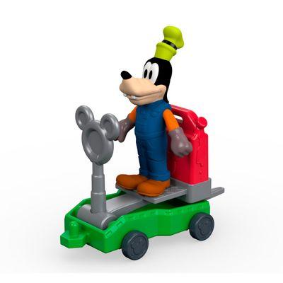 Mini-Figura-10-Cm---Disney---Mickey-Aventura-Sobre-Rodas---Pateta-Mecanico---Fisher-Price