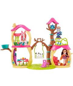 Playset-e-Boneca-Fashion---Enchantimals---Prue-Panda---Mattel