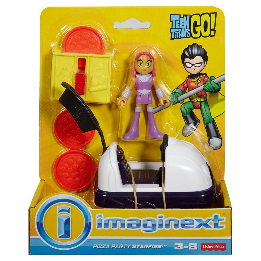 Mini-Figura-e-Veiculo---Imaginext---DC-Comics---Teen-Titans-Go---Estelar---Fisher-Price
