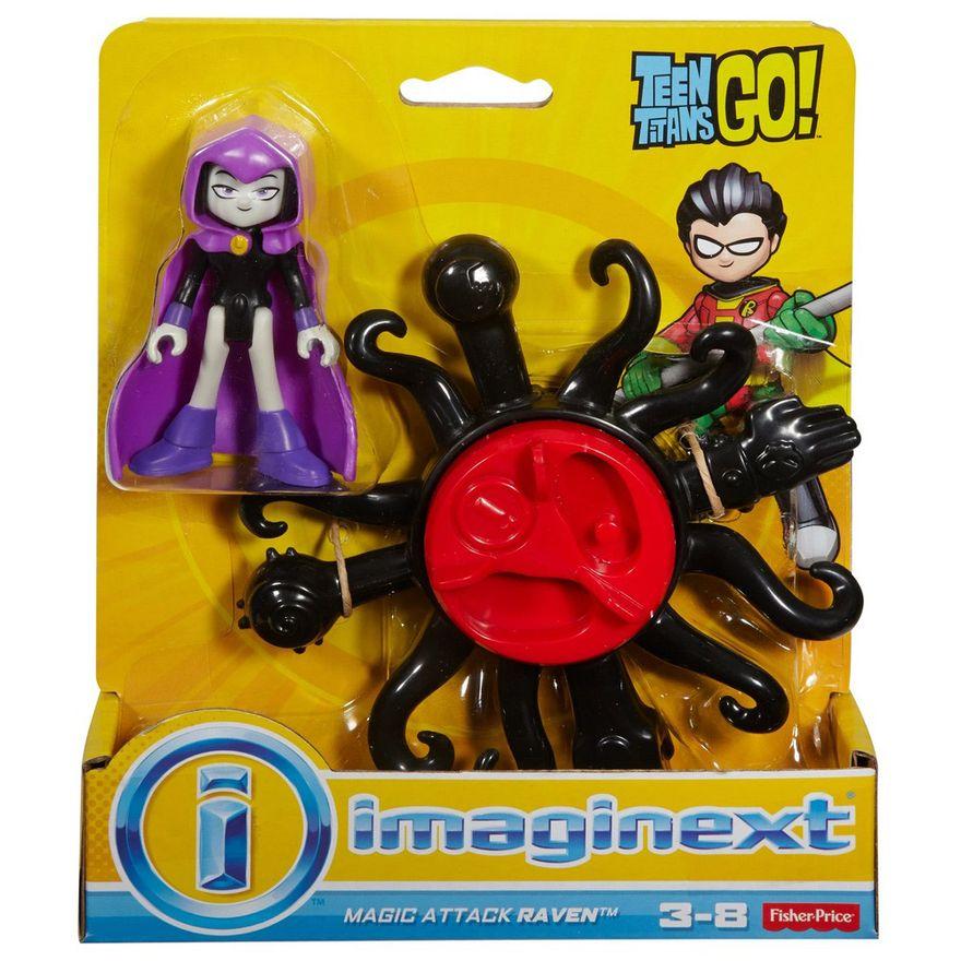 Mini-Figura-e-Veiculo---Imaginext---DC-Comics---Teen-Titans-Go---Ravena---Fisher-Price