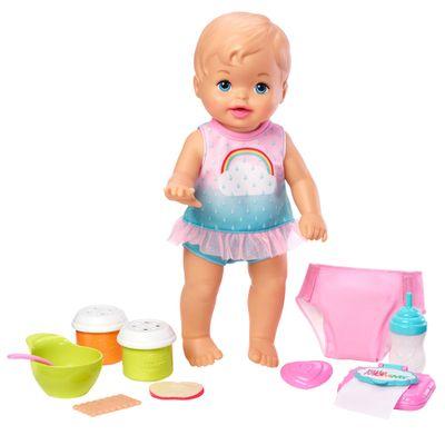Boneca-Bebe---Little-Mommy---Faz-Xixi-Deluxe---Vesitdo-Arco-Iris---Mattel