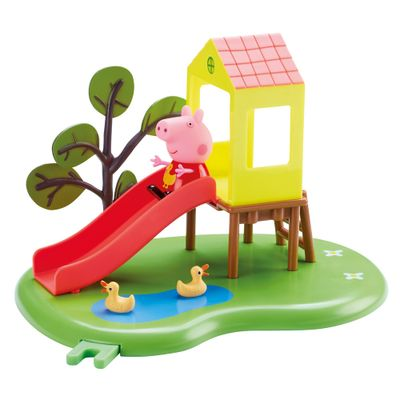 Playset-e-Mini-Figuras---Peppa-Pig---Peppa-Hora-de-Brincar---DTC