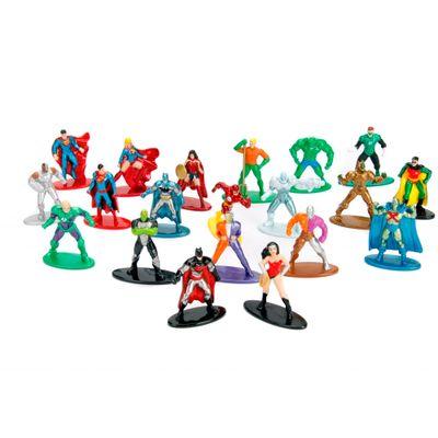Conjunto-de-20-Mini-Figuras---5-Cm---Nano-Metal---DC-Comics---Herois-e-Viloes---DTC