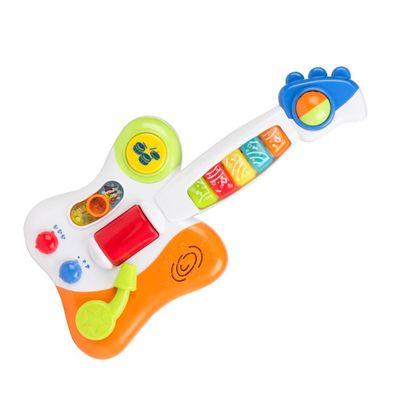 Guitarra-do-Bebe---Guitarrinha-com-Luzes-e-Sons---Winfun