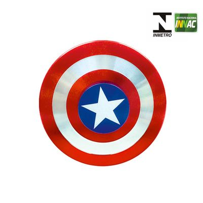 Hand-Spinner-Anti-Stress-Certificado---Fidget-Hero-Spinner---Disney---Marvel---Capitao-America---DTC