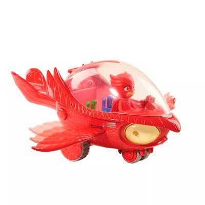 Veiculo-e-Figura---PJ-Masks---Planador-Coruja-com-Luzes-e-Sons---DTC