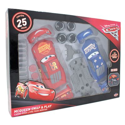 Kit-Monta-Demonta-e-Mistura---Relampago-McQueen---Carros-3---Disney---Toyng