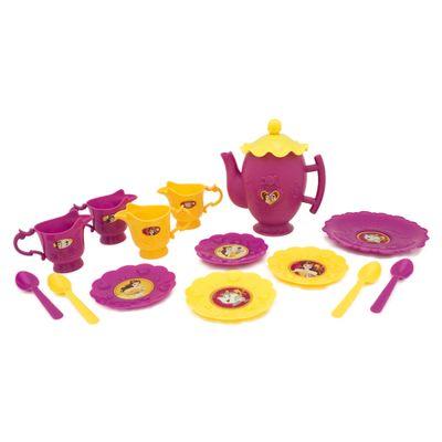 Conjunto-de-Acessorios---Bule-Jogo-de-Cha---13-Pecas---Disney---Princesas---A-Bela-e-a-Fera---Toyng
