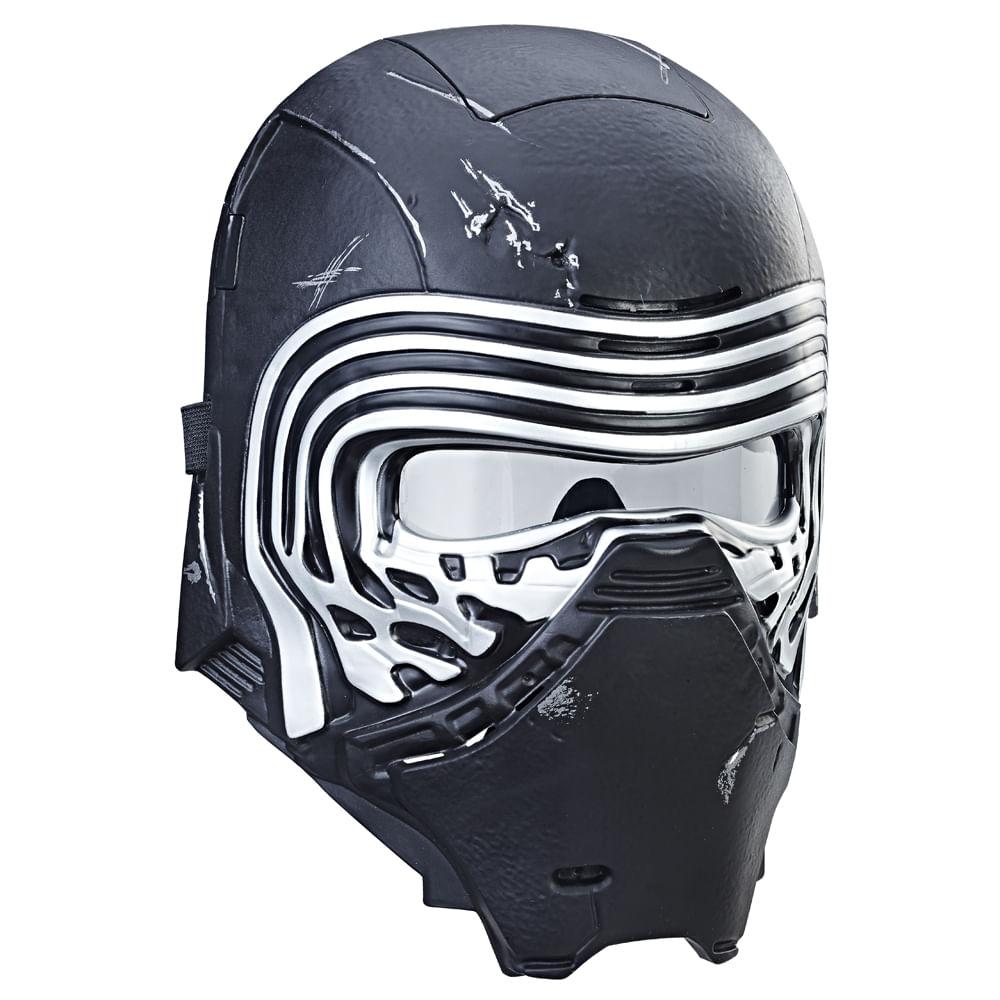 Máscara Eletrônica Deluxe - Disney - Star Wars - Episódio VIII - Kylo Ren - Hasbro