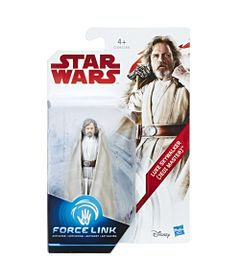 Figura-Articulada---18-Cm---Force-Link---Colecao-1---Disney---Star-Wars---Episodio-VIII---Luke-Skywalker---Hasbro